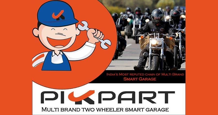 PIKPART (Multibrand Two Wheeler Smart Garage)