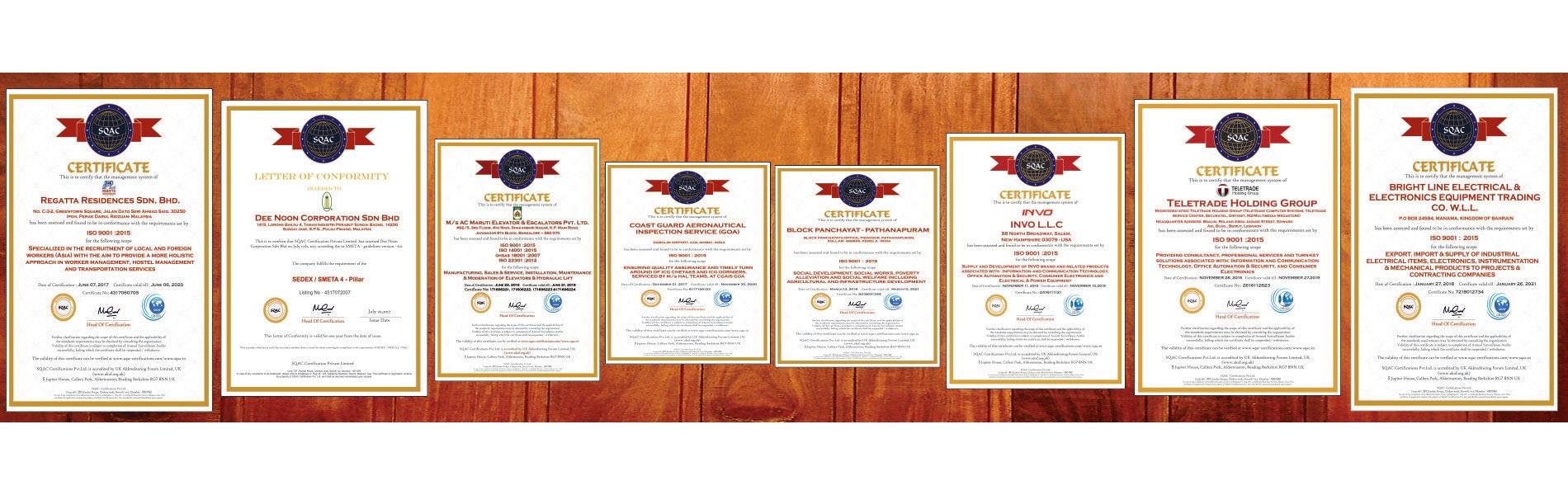 SQAC Certification Pvt. Ltd.