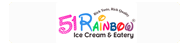 51 Rainbow Ice cream