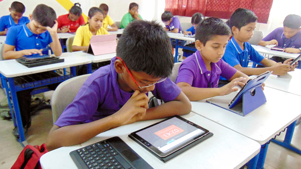 Digitization Making Its Way Into Government School