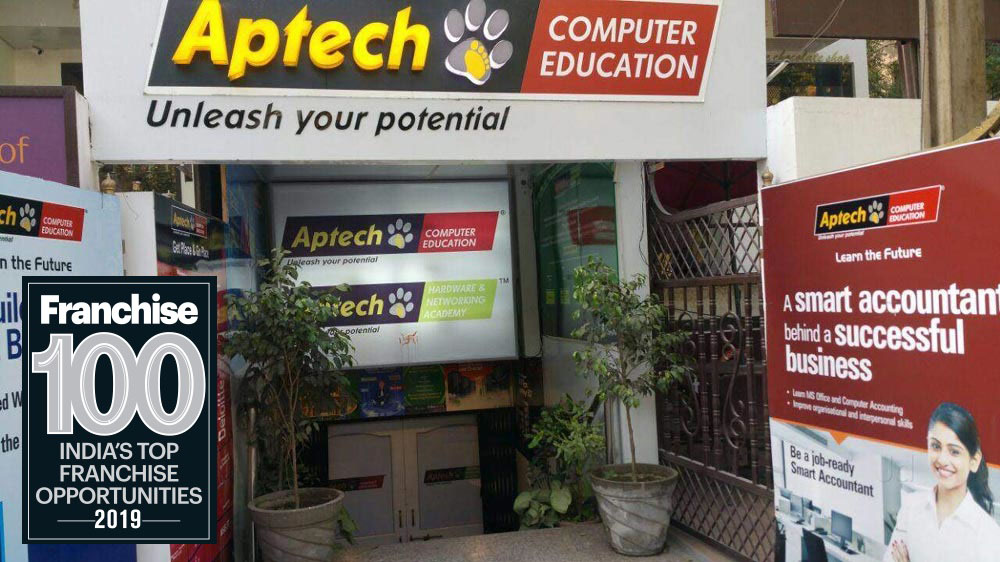 Aptech Listed In India's Top 100 Franchise in 20th Anniversary Issue of The Franchising World