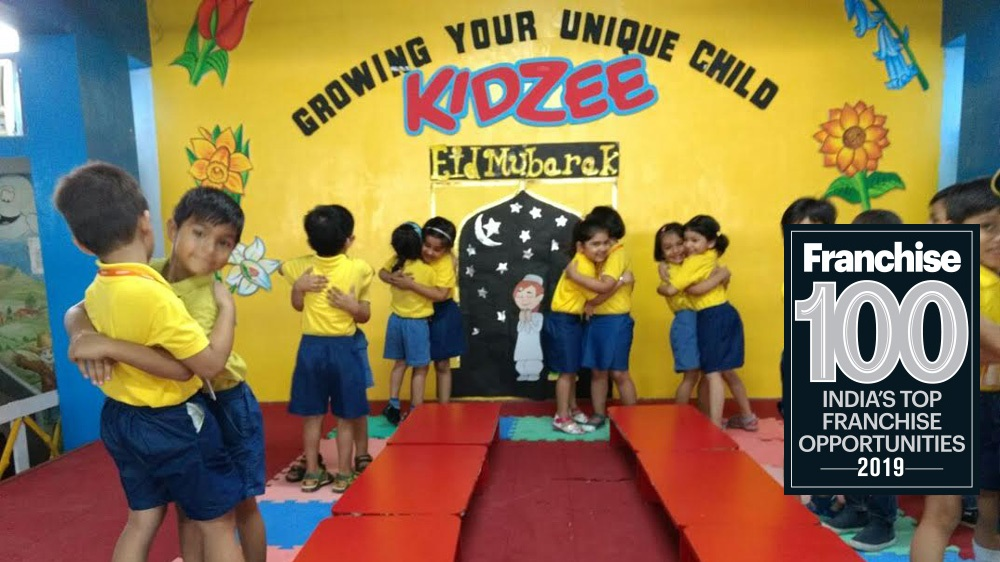 What Made Kidzee to be ranked among the Top 100 Franchise Brands in India