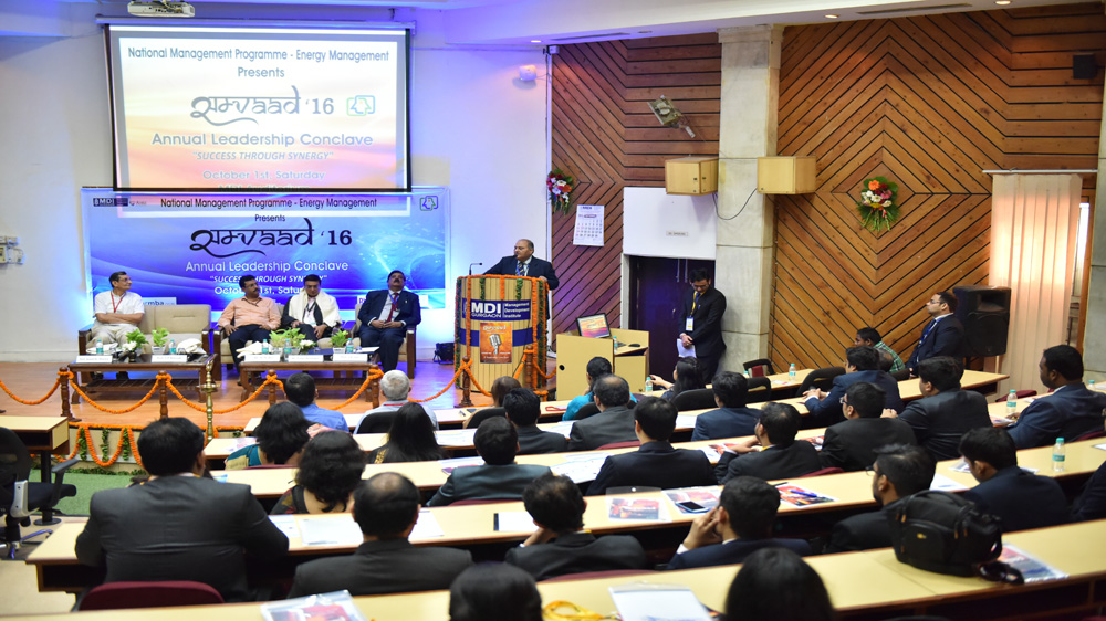 Samvaad 2016: Industry leaders engage in constructive dialogue with executive students at MDI