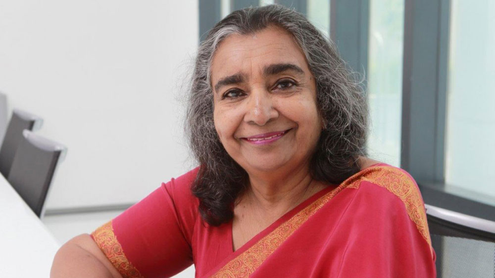 Gowri Ishwaran points to education as an all embracing solution