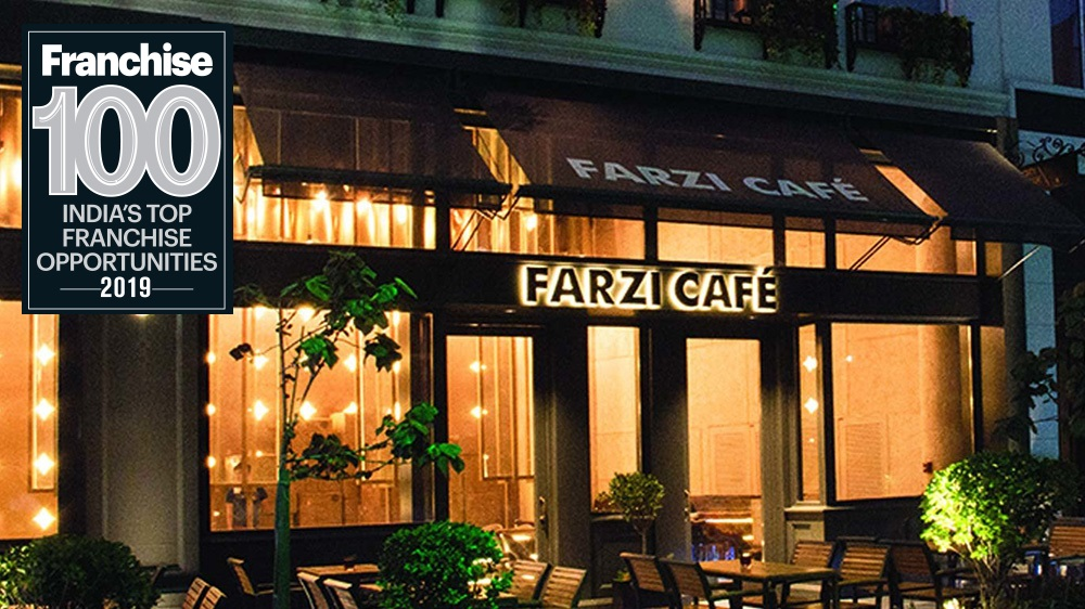 With A Vision Of Bringing Indian Cuisine Back In-Vogue, Farzi Café Enters The Top Franchise 100 Brands List