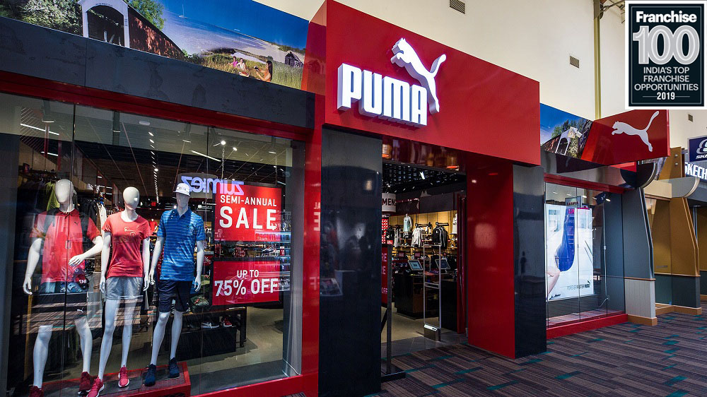 After transforming 'Sportswear' into 'Sports-Fashion', PUMA Enters into Top Franchise 100 Brands List