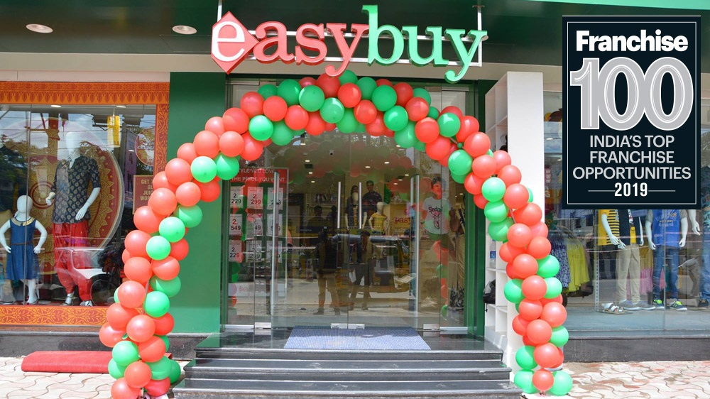 Easybuy's Vision to Create Affordable Business Opportunities for Smaller Towns, Earns it a Place in Top Franchise 100 Brands