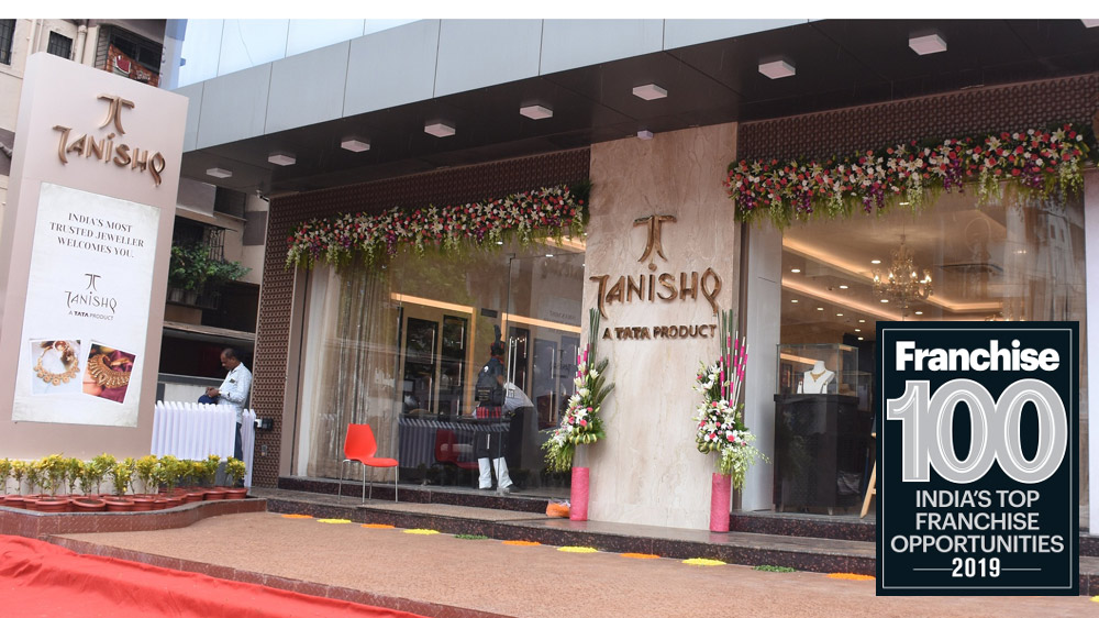 Tanishq Shining Successfully in Franchise 100