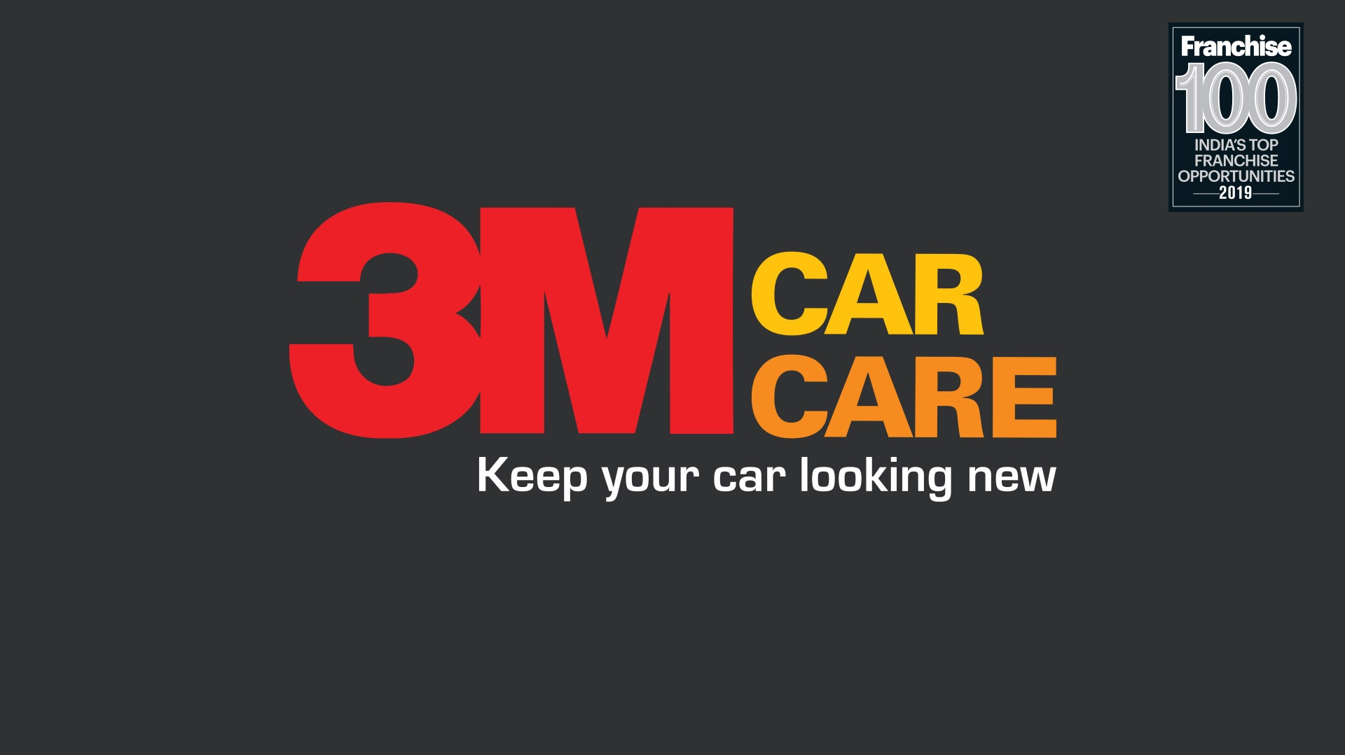 3M Car Care Delivers What it Promises, so it Stands Tall in the Top Franchise 100 Brands List