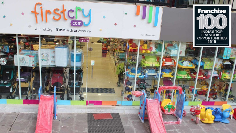 A Big Store for Little Ones, 'FirstCry' Has Gotten a Place in the Top Franchise 100 Brands List