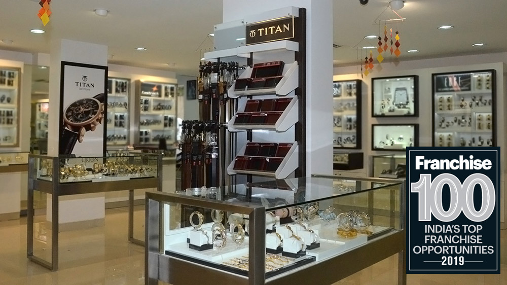 What Made The Titan Company One of the Top 100 Franchise Brands In India