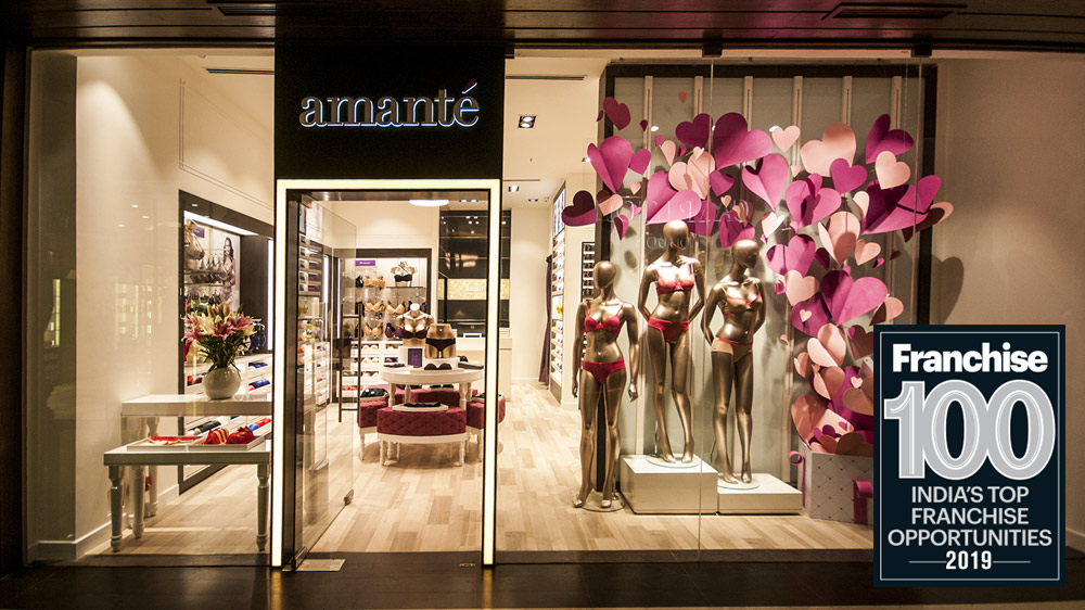 Amanté Among The Top 100 Franchise Brand