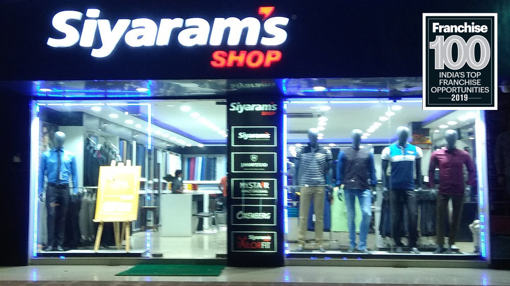 The Iconic Textile Brand, 'Siyarams' Enters the List of Top Franchise 100 Brands