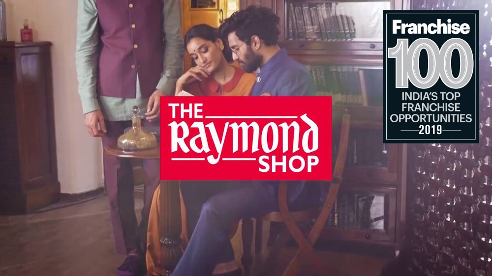 This is How Raymond Tailored its way into the Top Franchise 100 Brands List