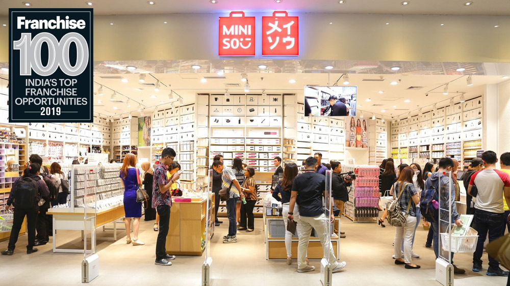 After Taking India by Storm, MINISO Makes Its Debut in Top 100 Franchise List