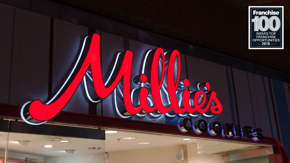 'Millie's Cookies' Tastes the Sweet Success by Entering the Top Franchise 100 Brands List