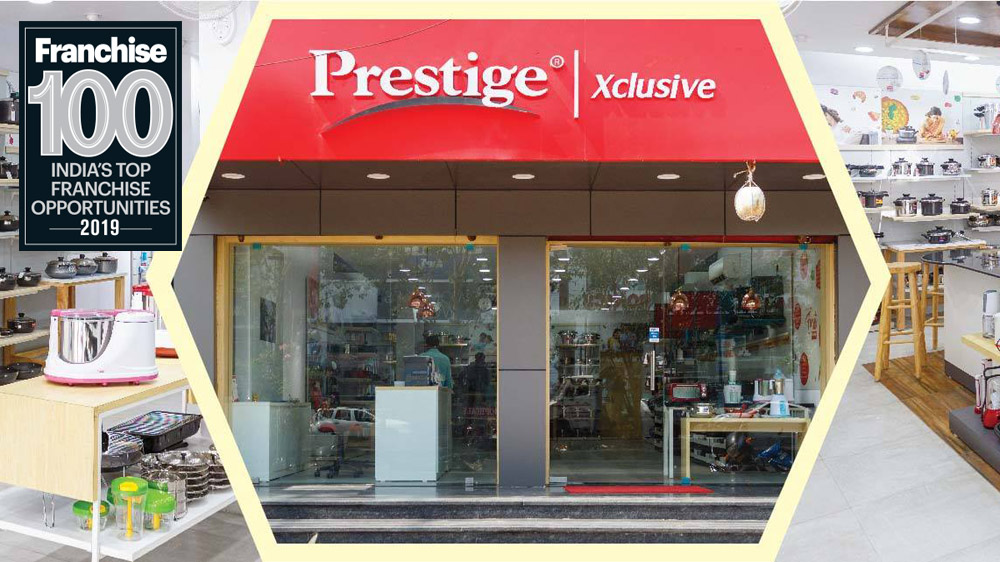 "TTK Prestige Makes A ""Prestigious"" Entry Into The Top 100 Franchise List"