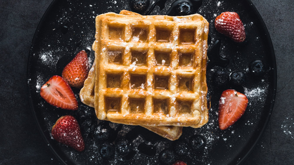WAFFLES MAKE FOR WONDERFUL BUSINESS