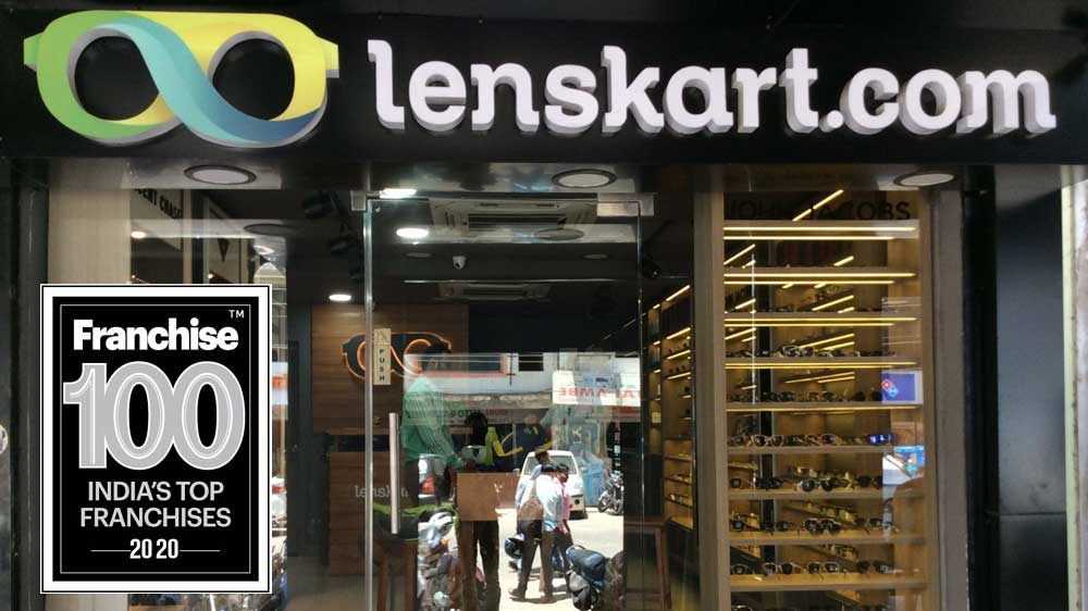 Lenskart's Aggressive Growth Enabled it to be Ranked among the Top-10 Franchise Brands