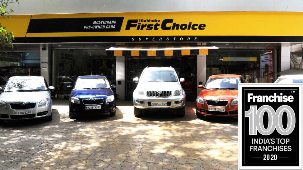 Mahindra First Choice Zooms into Franchise 100 List