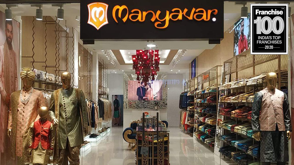 High Franchise Focus Enables Manyavar Upgrade Position in Franchise 100 List
