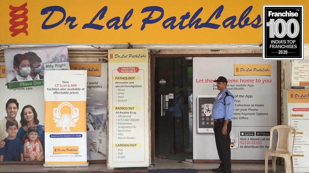 Franchise Expansion Retains Franchise 100 Crown for Dr Lal PathLabs