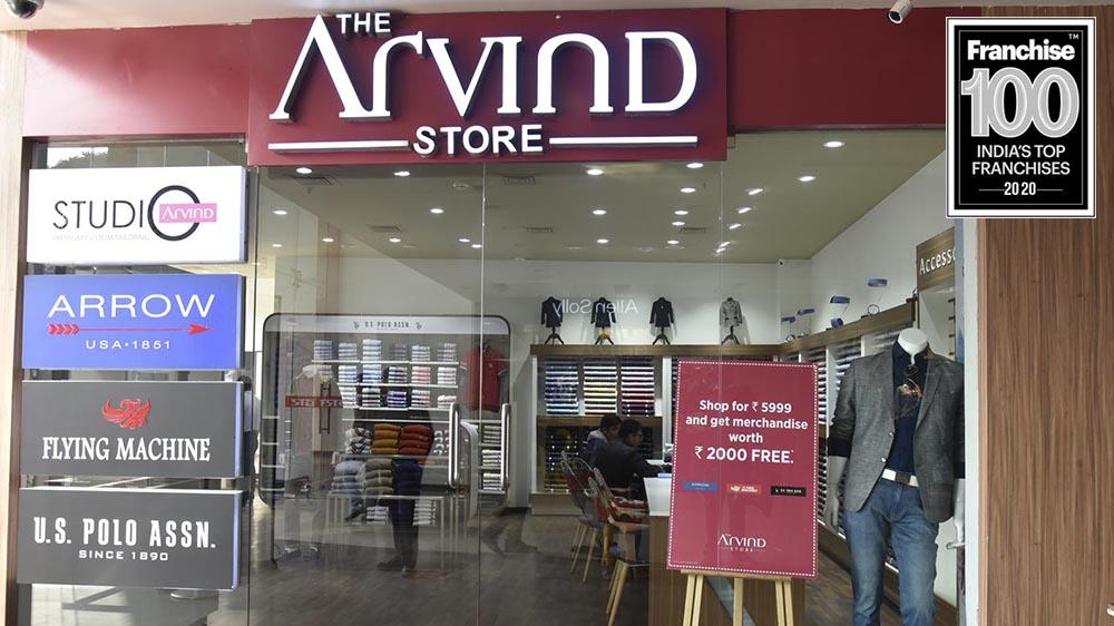 Robust Franchise Model Makes The Arvind Store Enter in Franchise 100 List