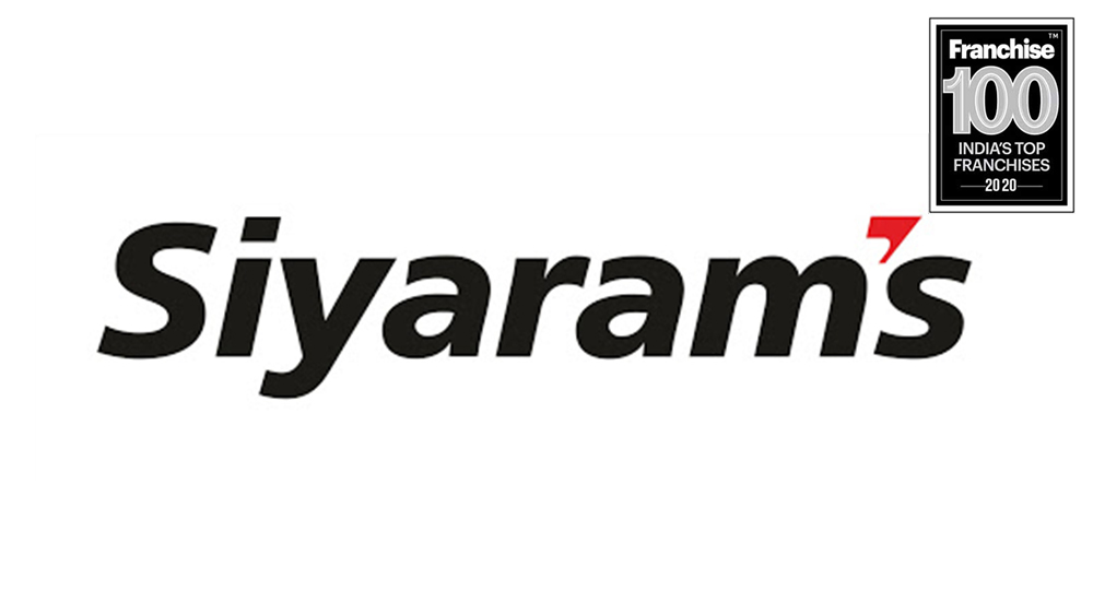 Siyaram's Core Values help it Secure Position in Franchise 100