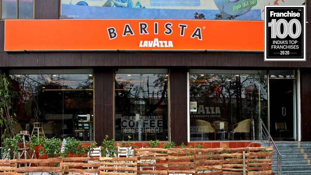 Barista makes it Big with Franchise 100