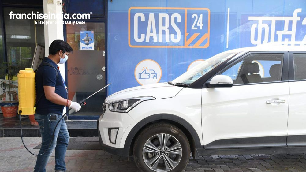[Funding Alert] Cars24 raised US $ 450 million funding round doubling its valuation to US $ 1.84 billion