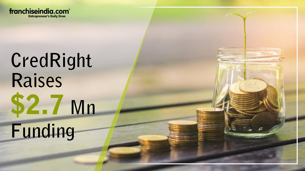 CredRight Raises $2.7 Mn funding