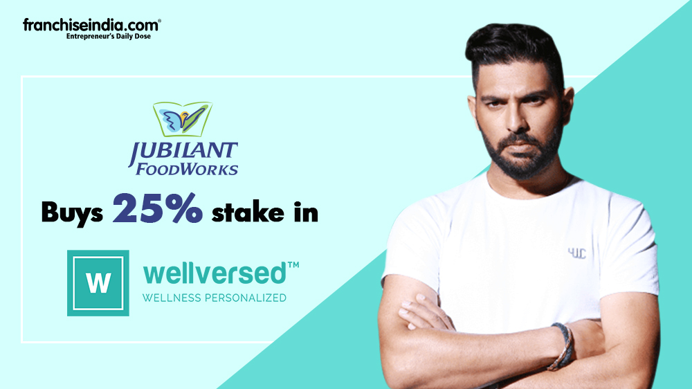 Jubilant acquires 25% stake in Yuvraj Singh invested nutrition brand Wellversed