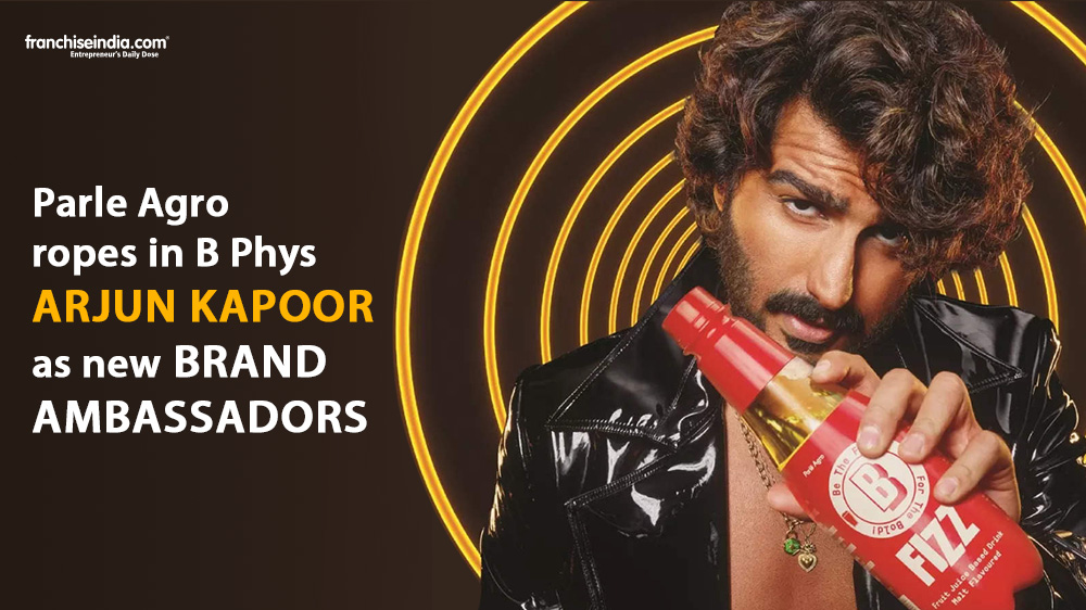 Parle Agro Onboards Arjun Kapoor as the Brand Ambassador for B Fizz