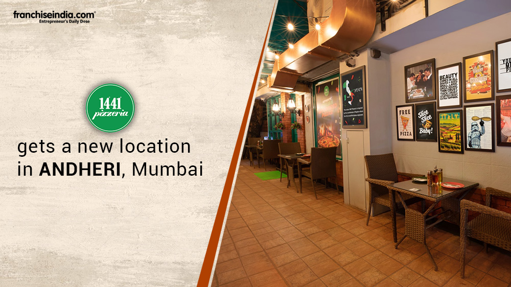 1441 Pizzeria gets a new location in Andheri, Mumbai