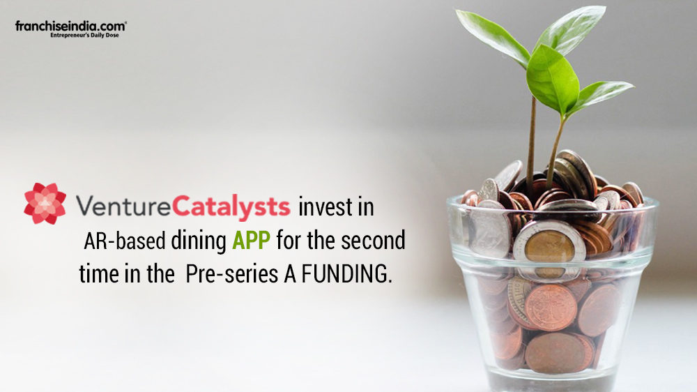 AR-based Dining App peAR Raises Pre-Series A Funding Round From Venture Catalysts