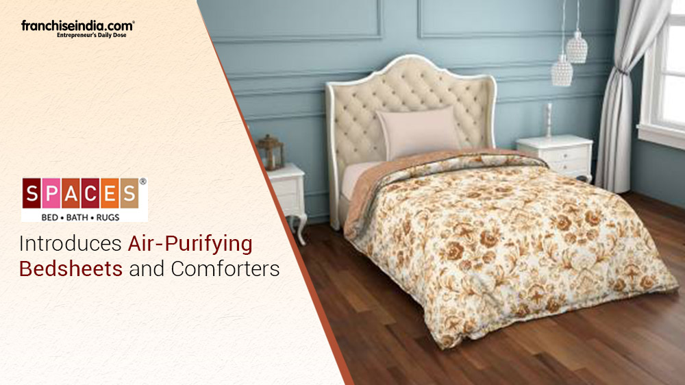 SPACES Introduces Air-Purifying Bedsheets and Comforters