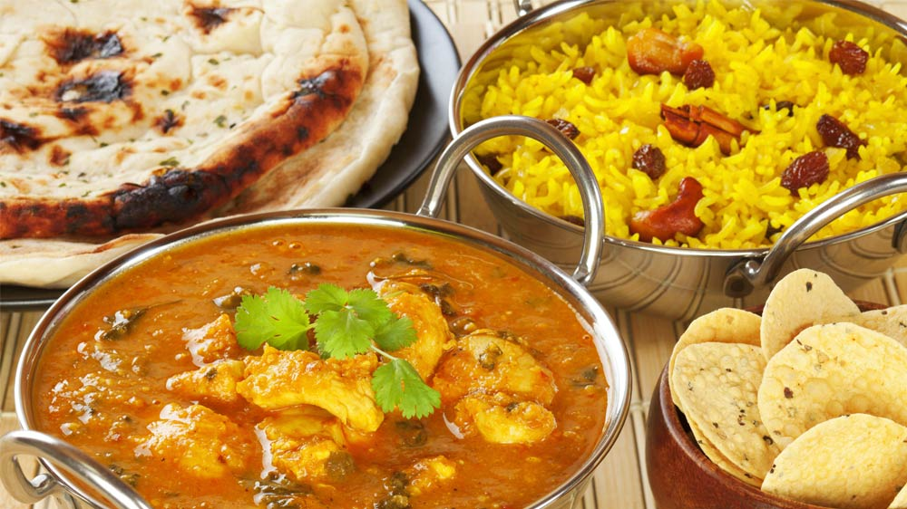 East or west, Indian cuisine is the best