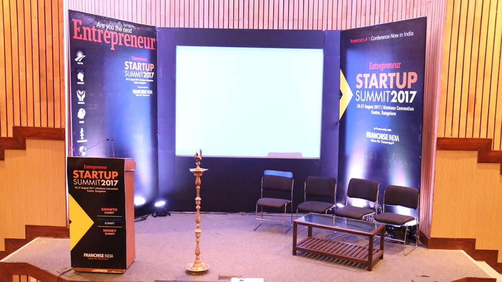 Bangalore hosts the Entrepreneur startup summit 2017