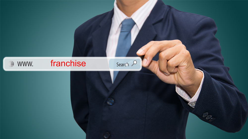 Search, research and select right franchise