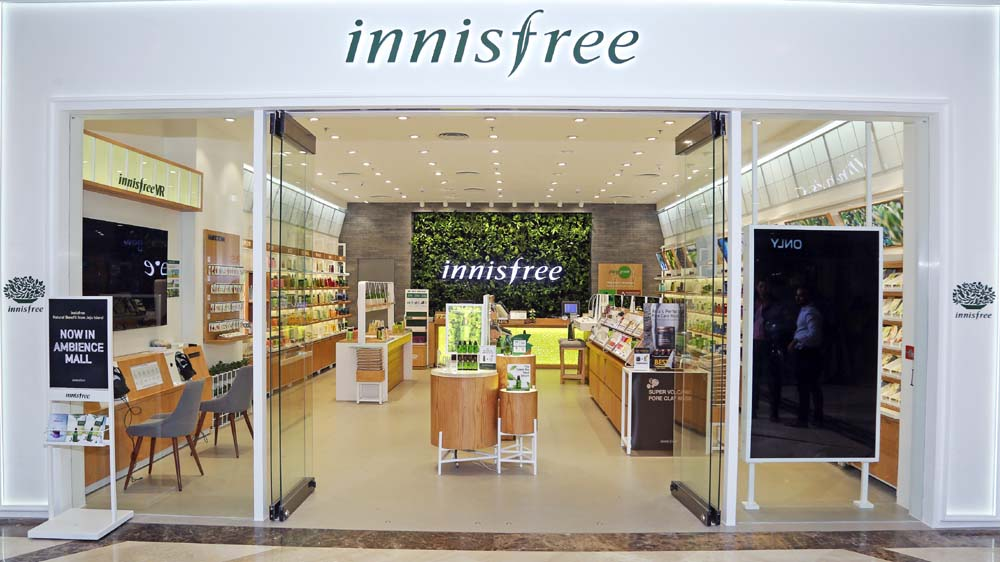 In Love with Nature- Innisfree India Store