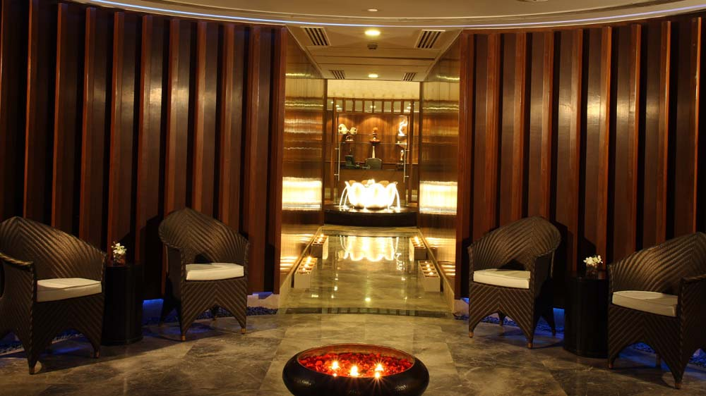 Rejuvenating the enthusiasm and zest for life- R The Spa