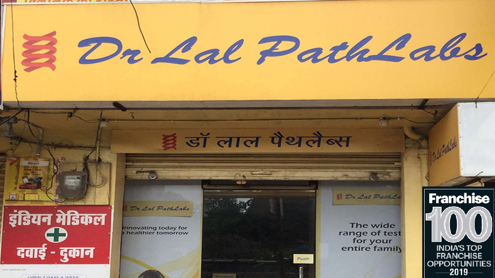 Dr Lal PathLabs Gets Enlisted Into Franchise 100 List