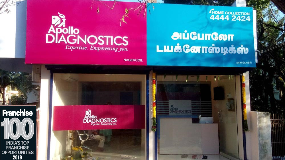 "Apollo Diagnostics ""Healthily"" Enters The India's Top 100 Franchise List"