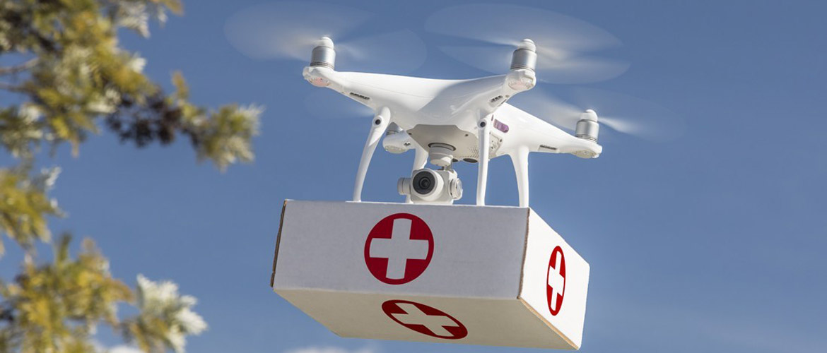 Why Drones Are The Future Of Healthcare Industry