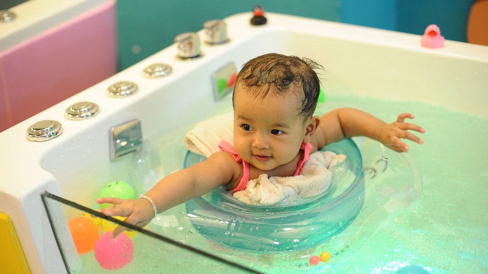 Big Demand for Baby Spas in Metro Cities
