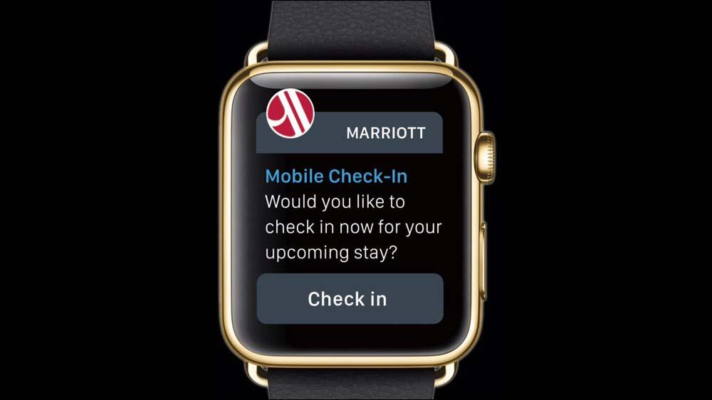 Apple Watch fuels Marriott International's mobile travel revolution
