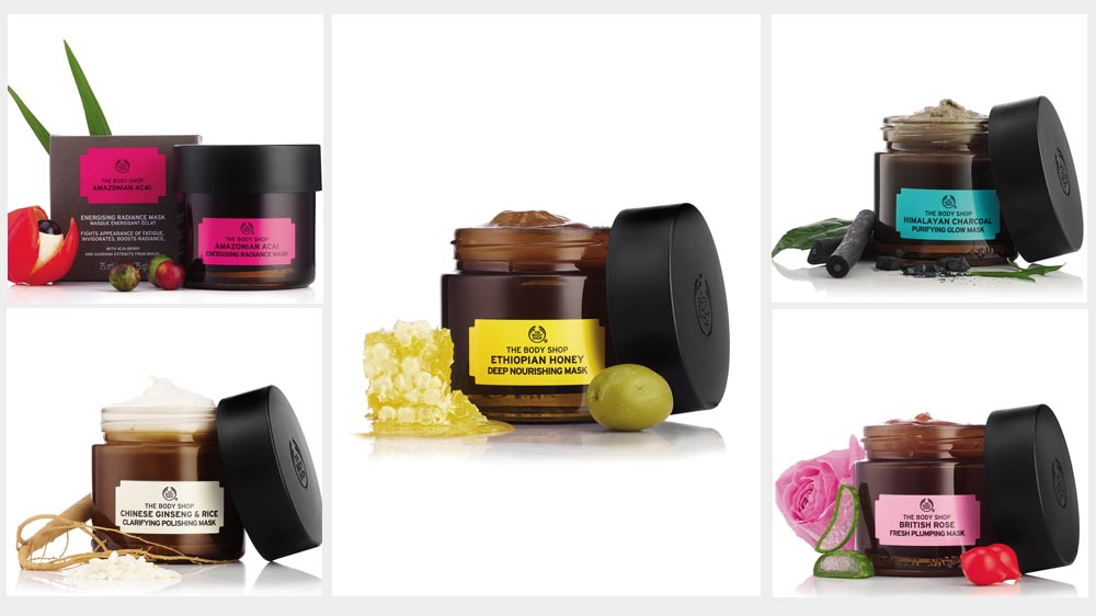 The Body Shop launches new vegan masks