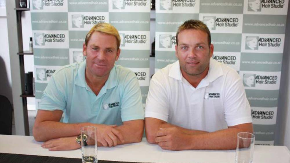 Cricketer Jacques Kallis launches Advanced Hair Studio hair replacement procedure