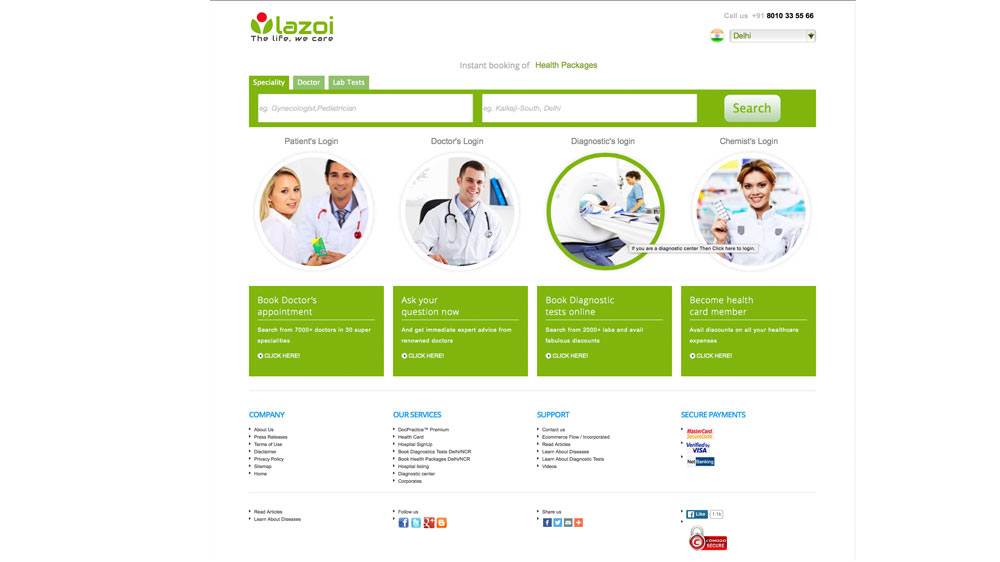 Delhi-based healthcare company HelpMeDoc changes name to Lazoi Lifecare Pvt Ltd