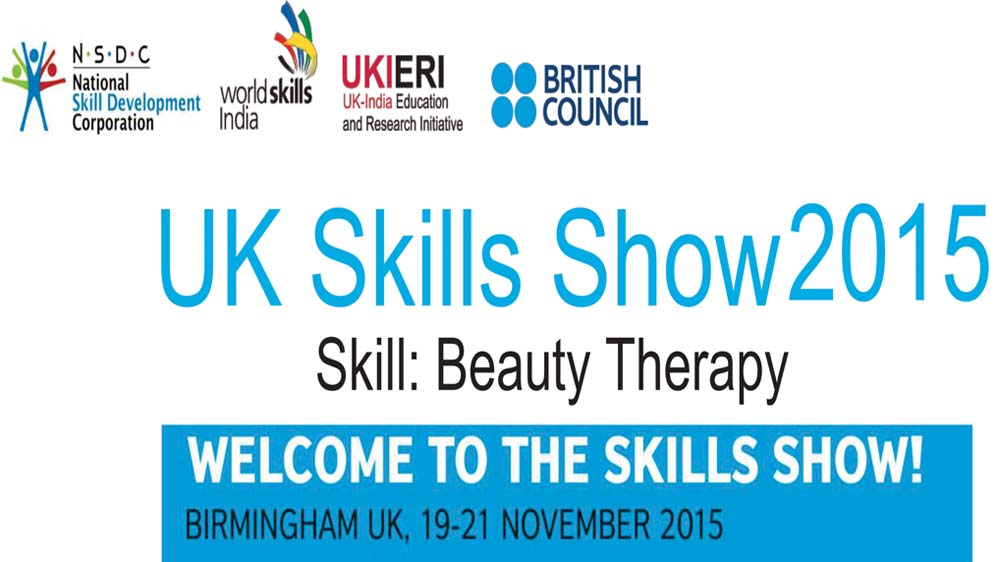 Four beauty & Wellness professionals to represent India at UK Skills Show 2015